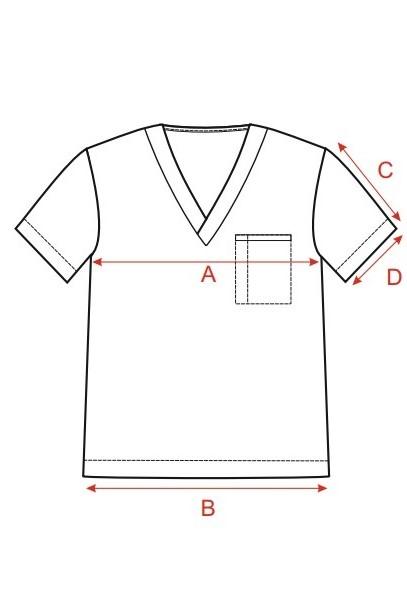 Bluzy medyczne męskie Pace